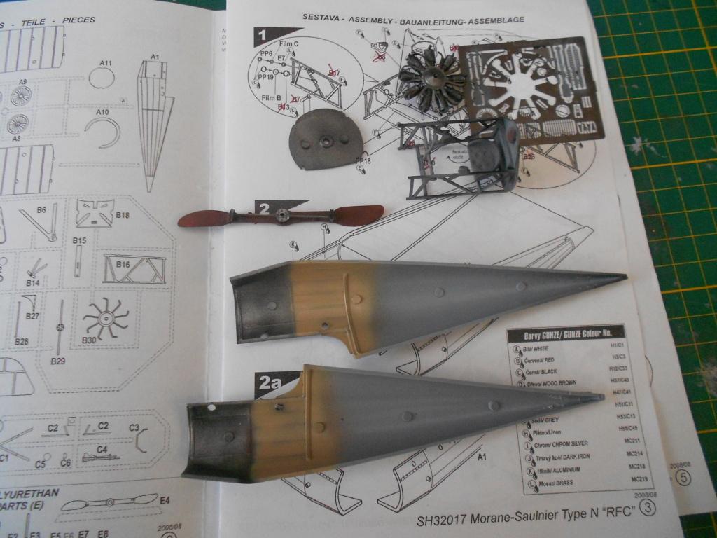 morane-saulnier type n 1/32 special hobby  Dscn4936