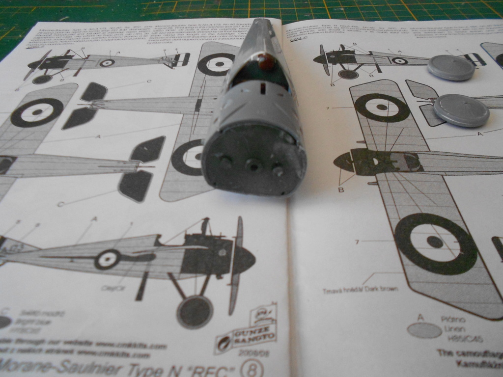 morane-saulnier type n 1/32 special hobby  Dscn4947