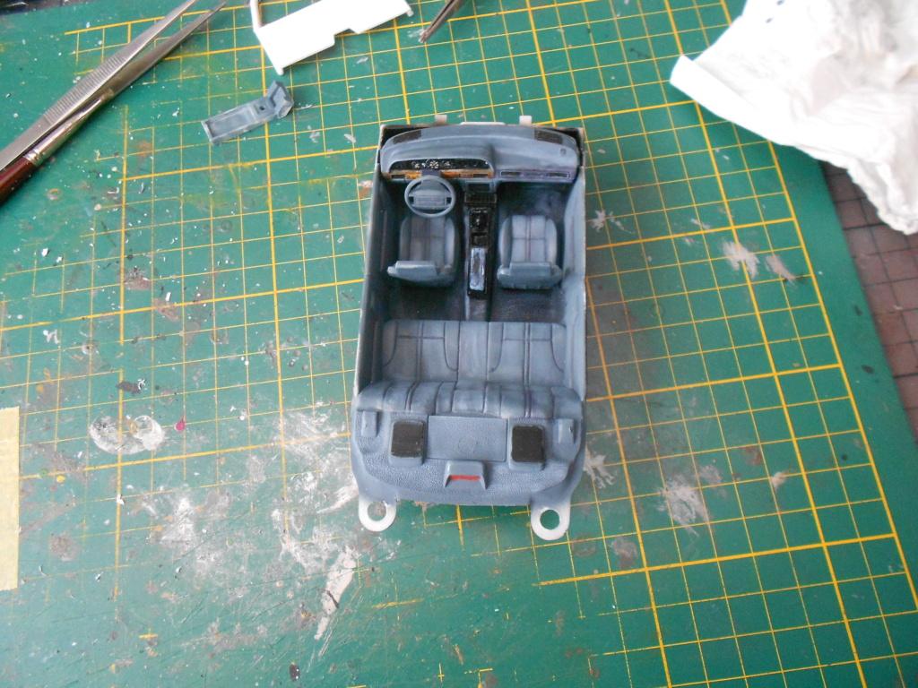 robo1 police car amt 1/25 ford taurus  Dscn4989