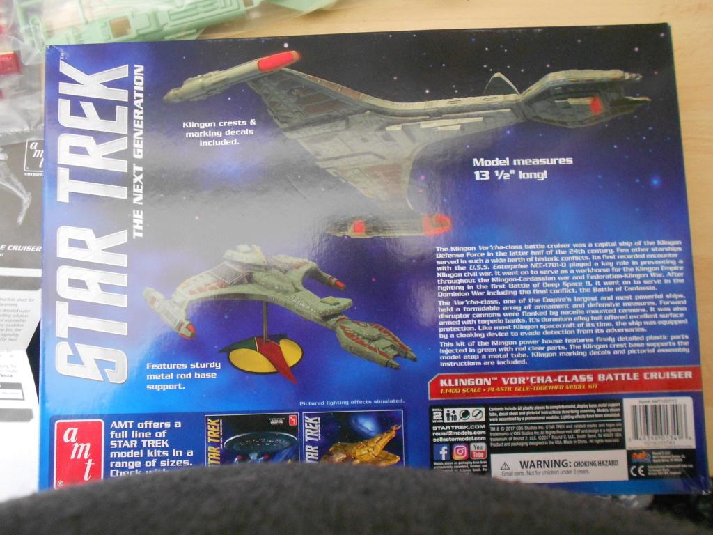 """star trek klingon vor""""cha-class battle cruiser Dscn5615"""
