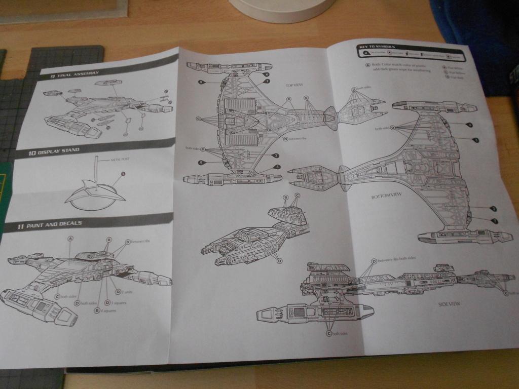 """star trek klingon vor""""cha-class battle cruiser Dscn5618"""