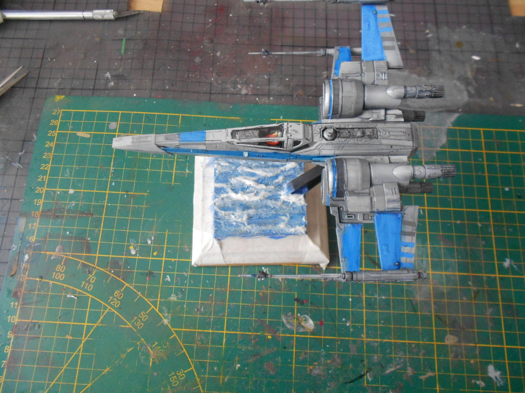 star wars blue squadron resistance x-wing fighter 1/72 bandai  - Page 2 Dscn5652