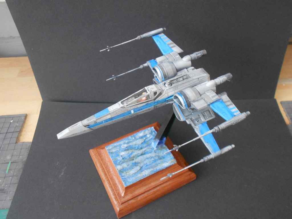 star wars blue squadron resistance x-wing fighter 1/72 bandai  - Page 2 Dscn5672