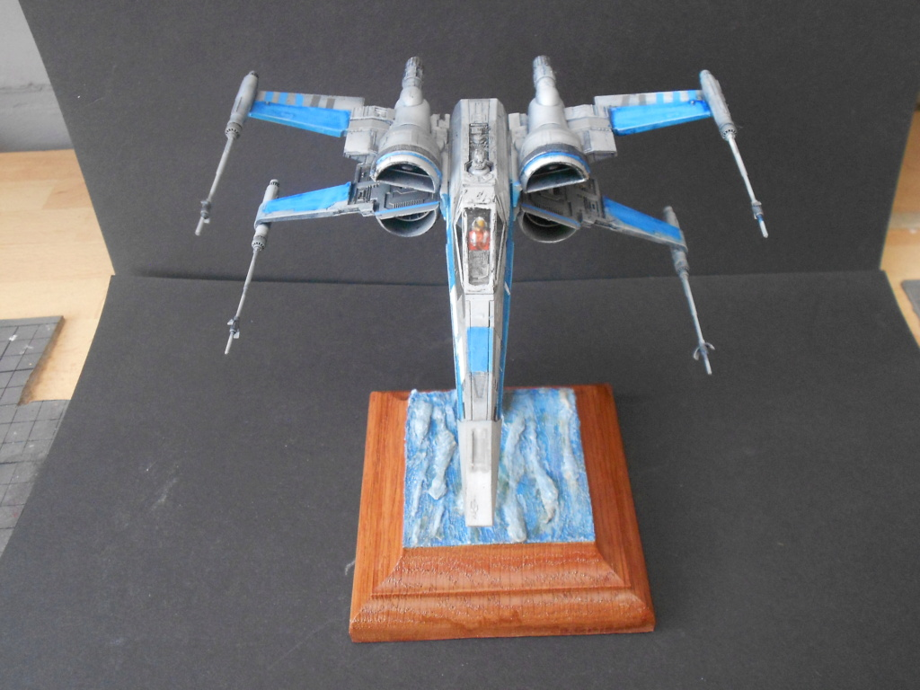 star wars blue squadron resistance x-wing fighter 1/72 bandai  - Page 2 Dscn5673