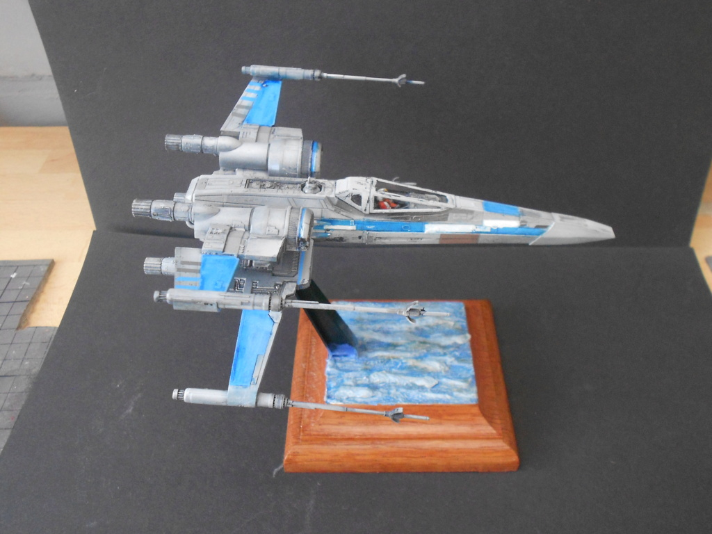 star wars blue squadron resistance x-wing fighter 1/72 bandai  - Page 2 Dscn5674