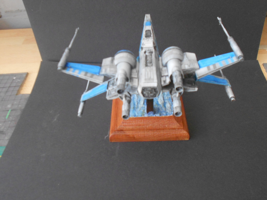 star wars blue squadron resistance x-wing fighter 1/72 bandai  - Page 2 Dscn5675