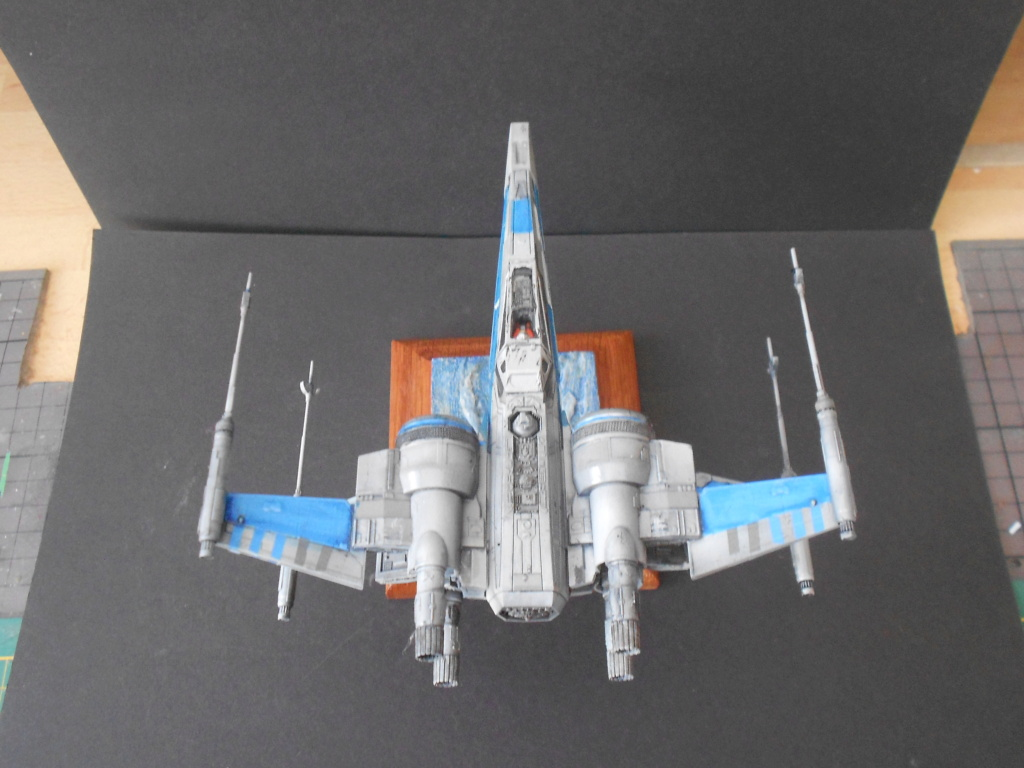 star wars blue squadron resistance x-wing fighter 1/72 bandai  - Page 2 Dscn5676