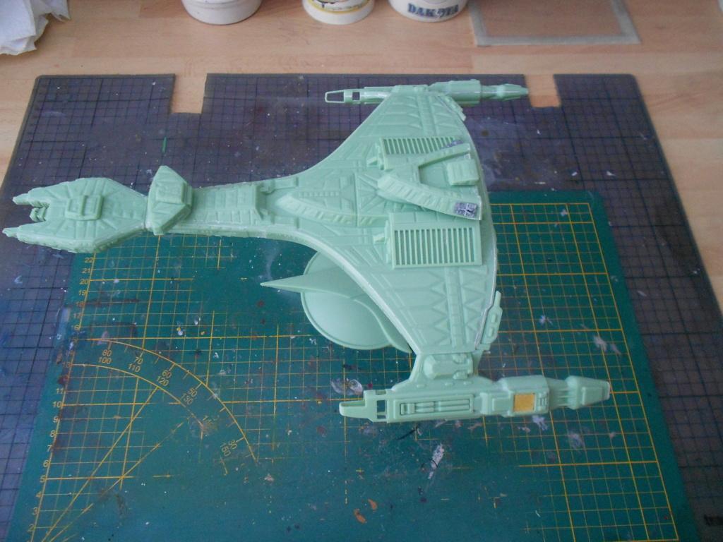 """star trek klingon vor""""cha-class battle cruiser Dscn5698"""