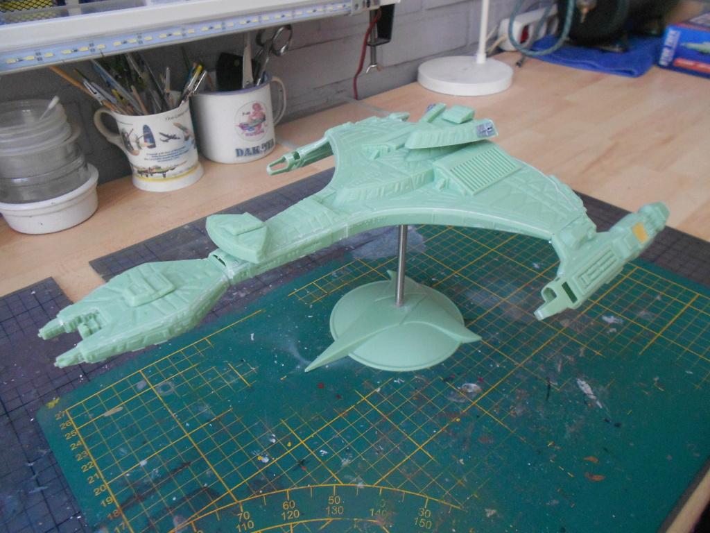 """star trek klingon vor""""cha-class battle cruiser Dscn5699"""