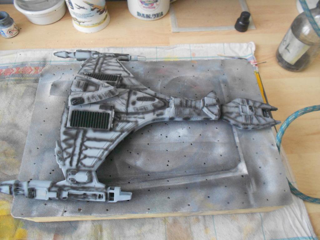 """star trek klingon vor""""cha-class battle cruiser Dscn5710"""