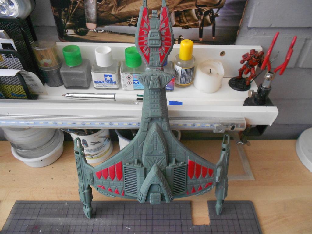"""star trek klingon vor""""cha-class battle cruiser Dscn5743"""