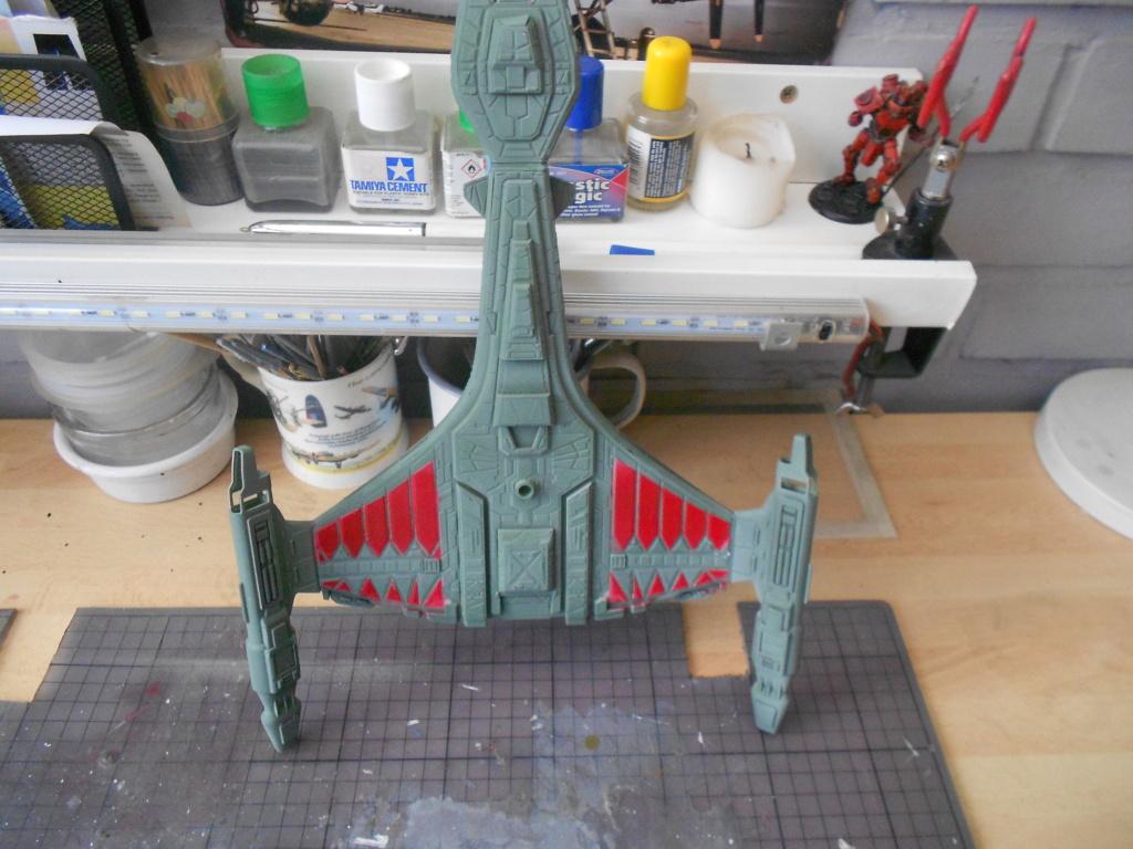"""star trek klingon vor""""cha-class battle cruiser Dscn5744"""