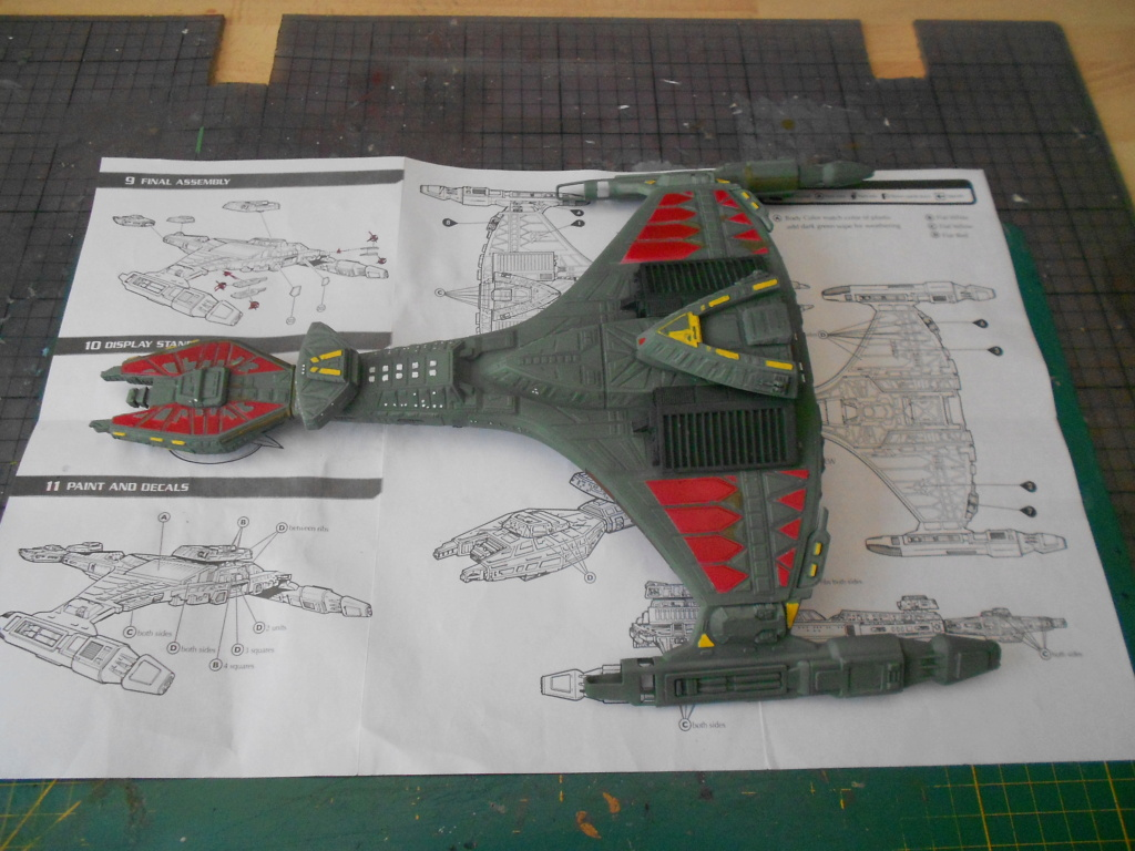 """star trek klingon vor""""cha-class battle cruiser Dscn5774"""