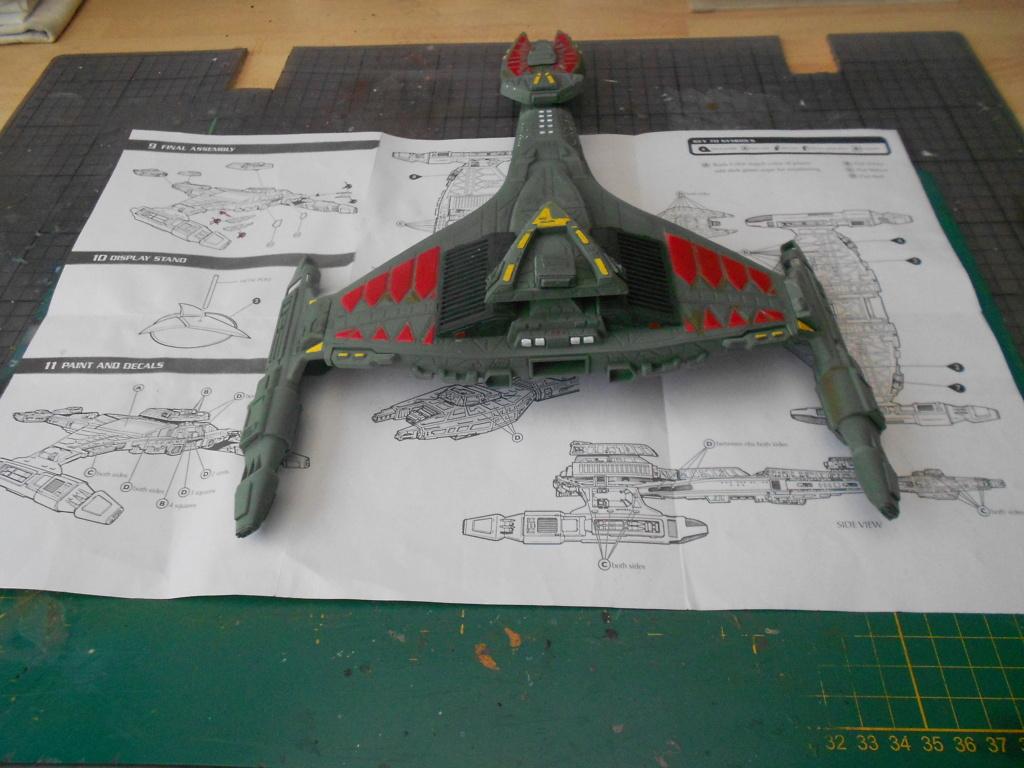 """star trek klingon vor""""cha-class battle cruiser Dscn5775"""