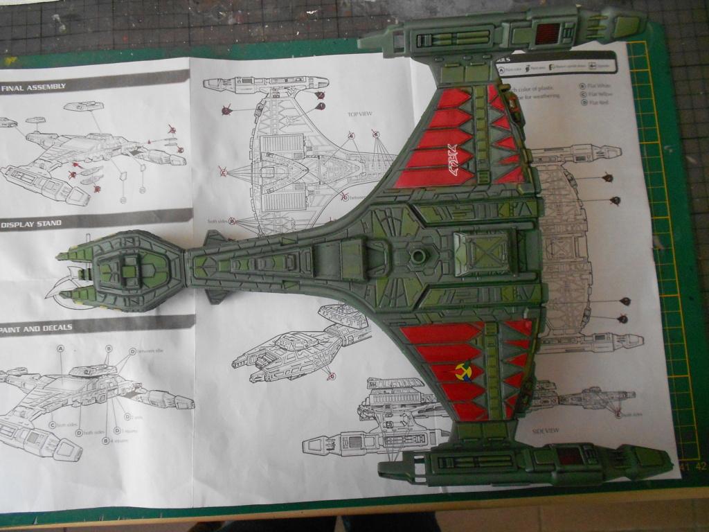 "star trek klingon vor""cha-class battle cruiser - Page 2 Dscn5785"