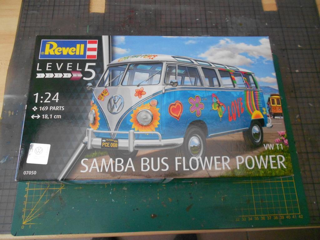 v w t1 samba bus flower power revell 1/24  Dscn6109