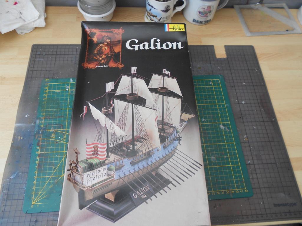 galion heller 1/200  époque Charles Quint  Dscn6383