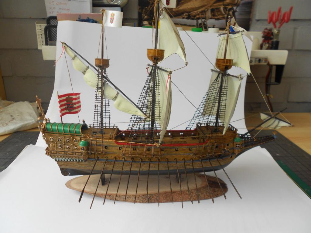 galion heller 1/200  époque Charles Quint  Dscn6559