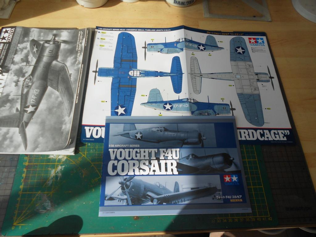 Corsair F4U-1 Birdcage - Tamiya - 1/32 Dscn6641