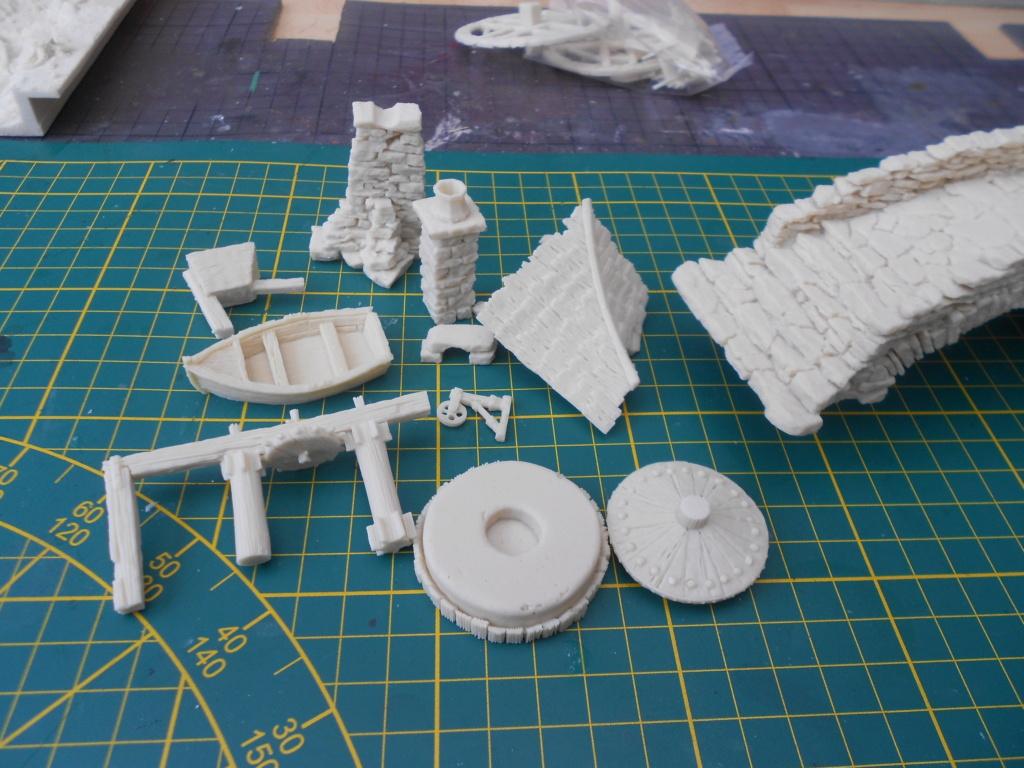 tabletop moulin a eau 28mm  Dscn6888