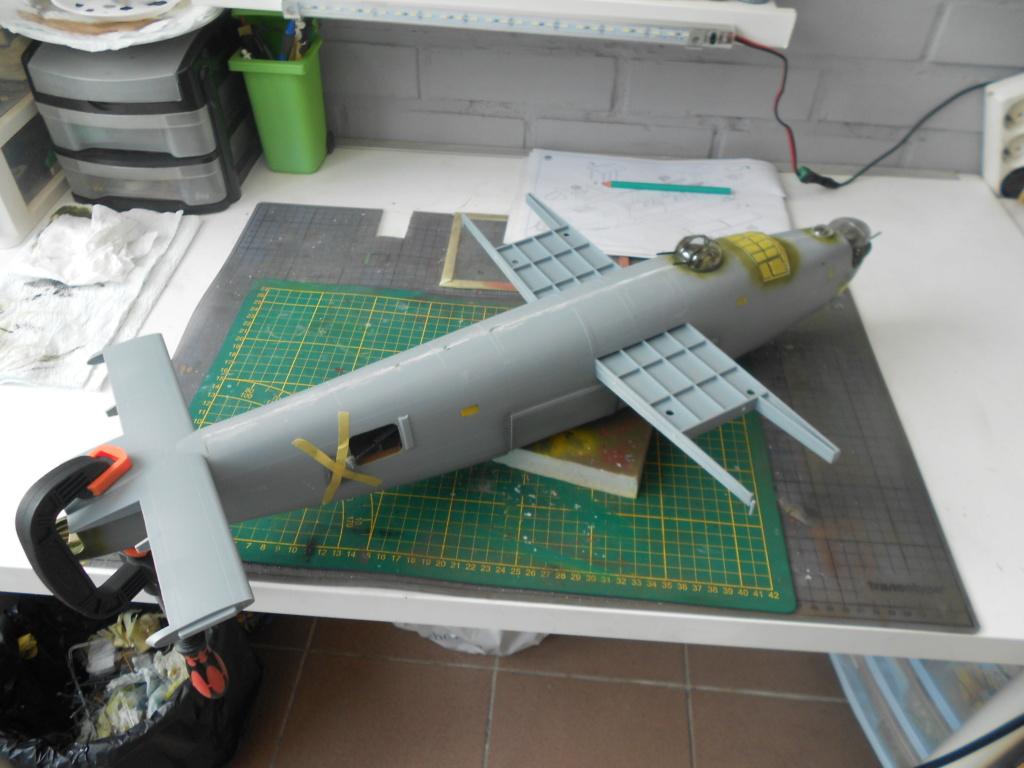 b-24j liberator au 1/32 hobby boss - Page 5 Fusela33