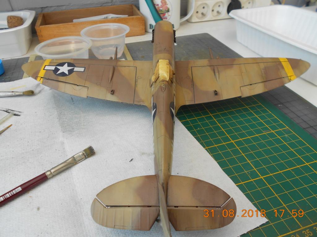 Supermarine Spitfire MK VIII 1/32 Tamiya  - Page 2 Patine20