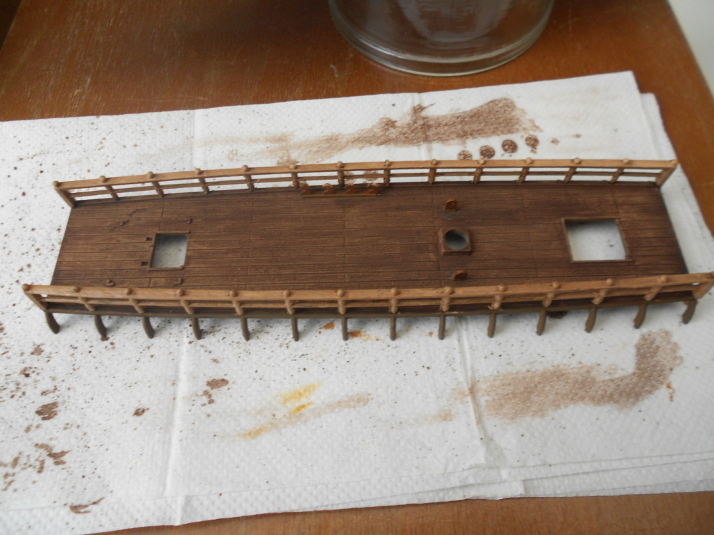 Roman Warship 1/72 Academy - Page 2 Pontds13