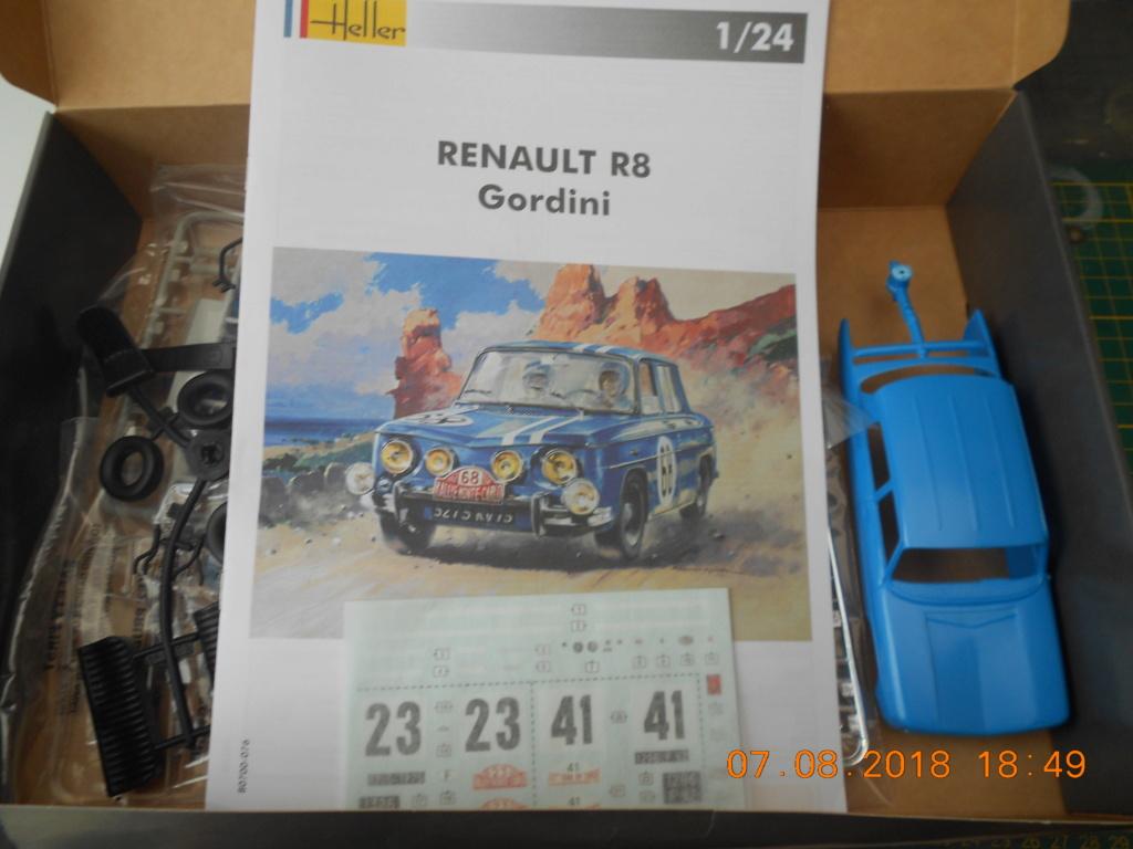 Renault R8 Gordini Heller au 1/24 Renaul33