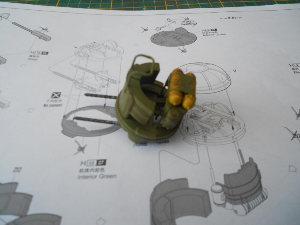 b-24j liberator au 1/32 hobby boss - Page 4 Tourel26