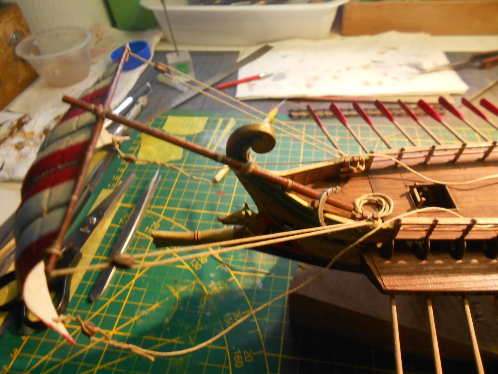 Roman Warship 1/72 Academy - Page 3 Voile_23