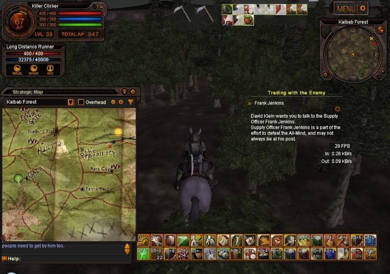 This is how you climb a tree in a PvP zone Image033