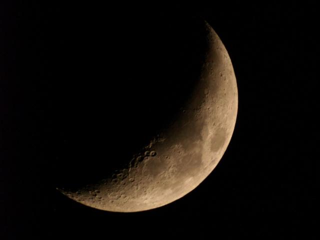 cratère de météorite Lune1910