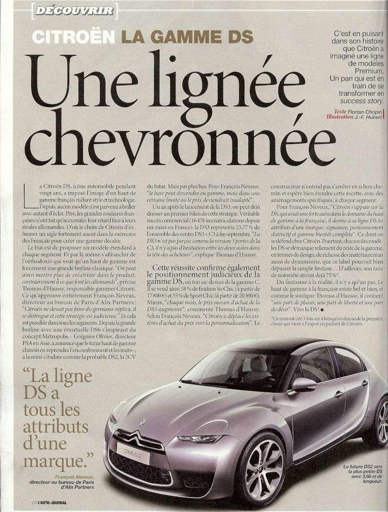 201? - [RUMEUR] Citroën DS2 - Page 7 Numari13