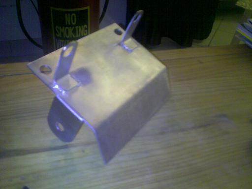 [VENDS] support de plaque inox spécial mostro cul coupé 26022010