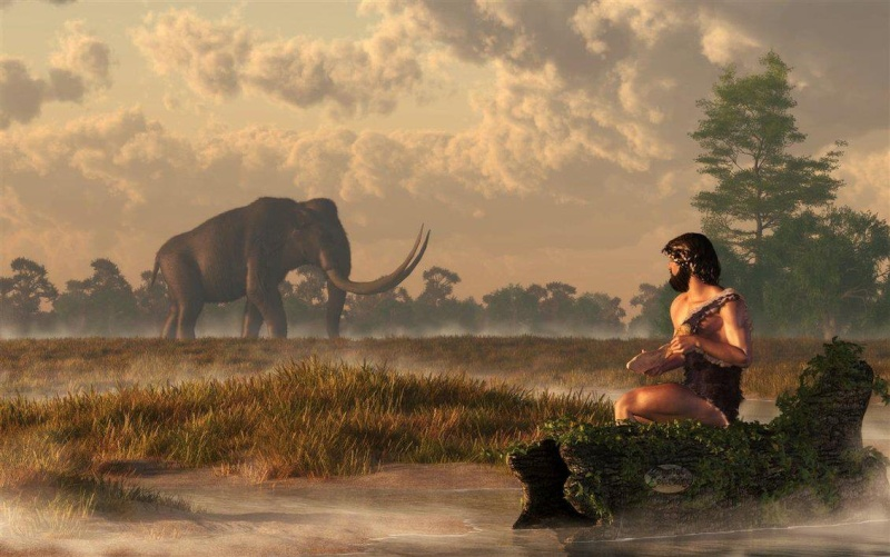 l'image de l'homme préhistorique - Page 8 Americ10