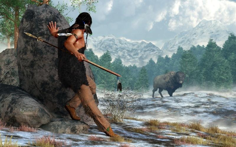 l'image de l'homme préhistorique - Page 8 Americ11