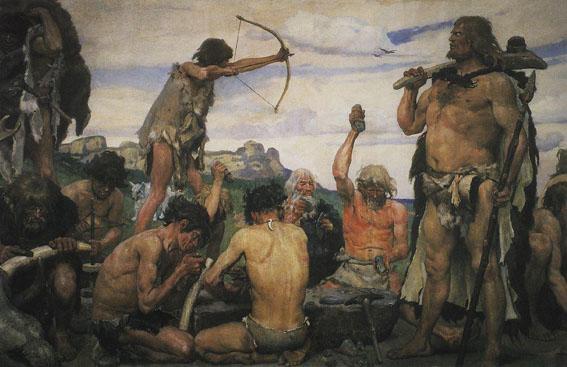 l'image de l'homme préhistorique - Page 8 Archer10
