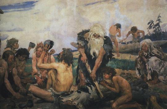 l'image de l'homme préhistorique - Page 8 Art_110