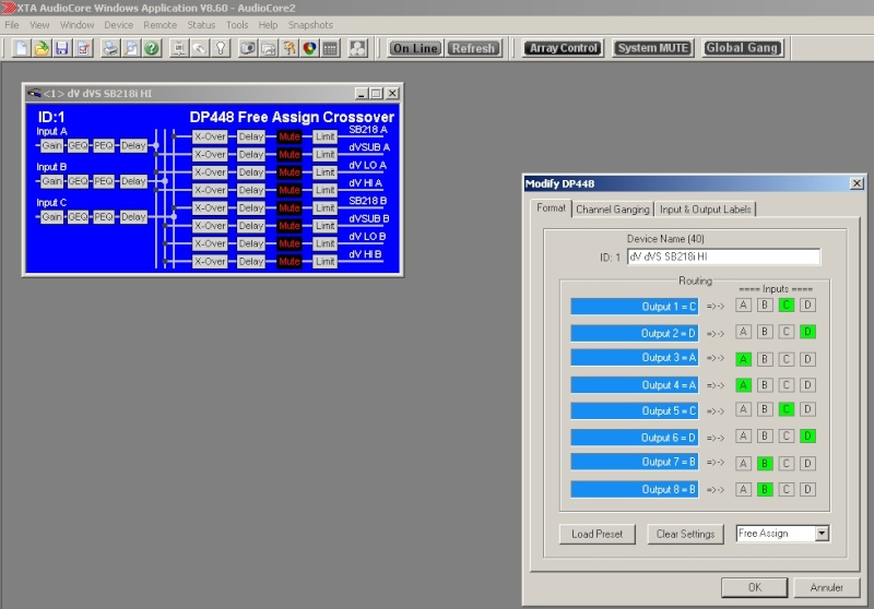 XTA DP448 ... Screen23