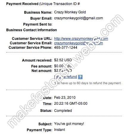 My 5th Payment 110