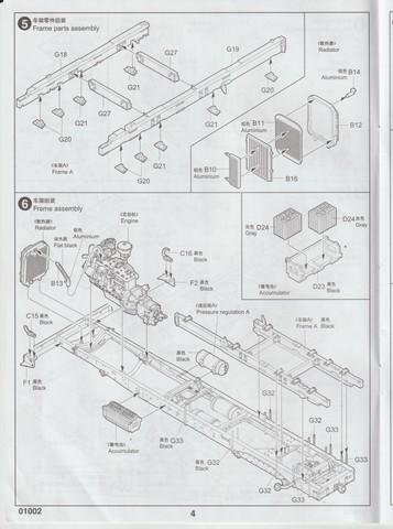 [TRUMPETER] Camion militaire chinois JIENFANG CA-30 1/35ème Réf 01002 00411
