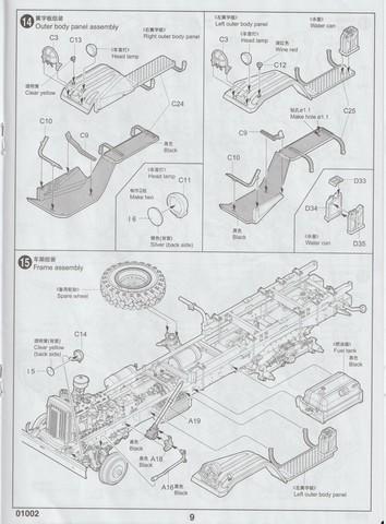 [TRUMPETER] Camion militaire chinois JIENFANG CA-30 1/35ème Réf 01002 00911