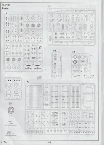 [TRUMPETER] Camion militaire chinois JIENFANG CA-30 1/35ème Réf 01002 01511