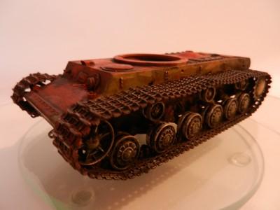 Véhicule de récupération allemand Pz.Kpfw KV-2 754  Dscn9035