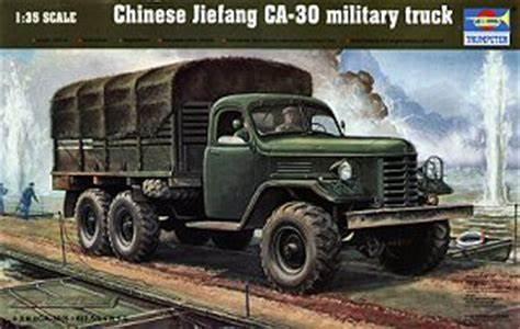[TRUMPETER] Camion militaire chinois JIENFANG CA-30 1/35ème Réf 01002 Oip11