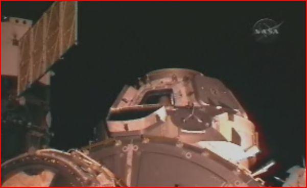 [STS-130 endeavour]ISS20A  EVA#3 Behnken & Patricks. fil Captur27