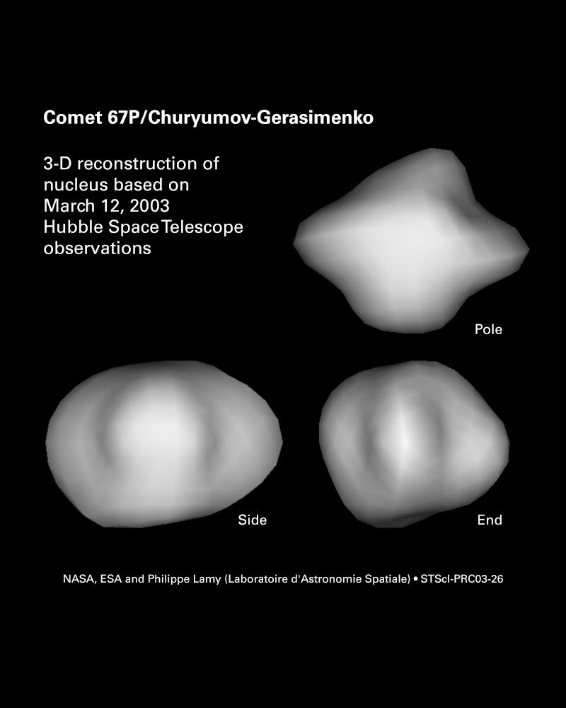 Rosetta : survol de l'astéroïde Lutetia Hs-20010