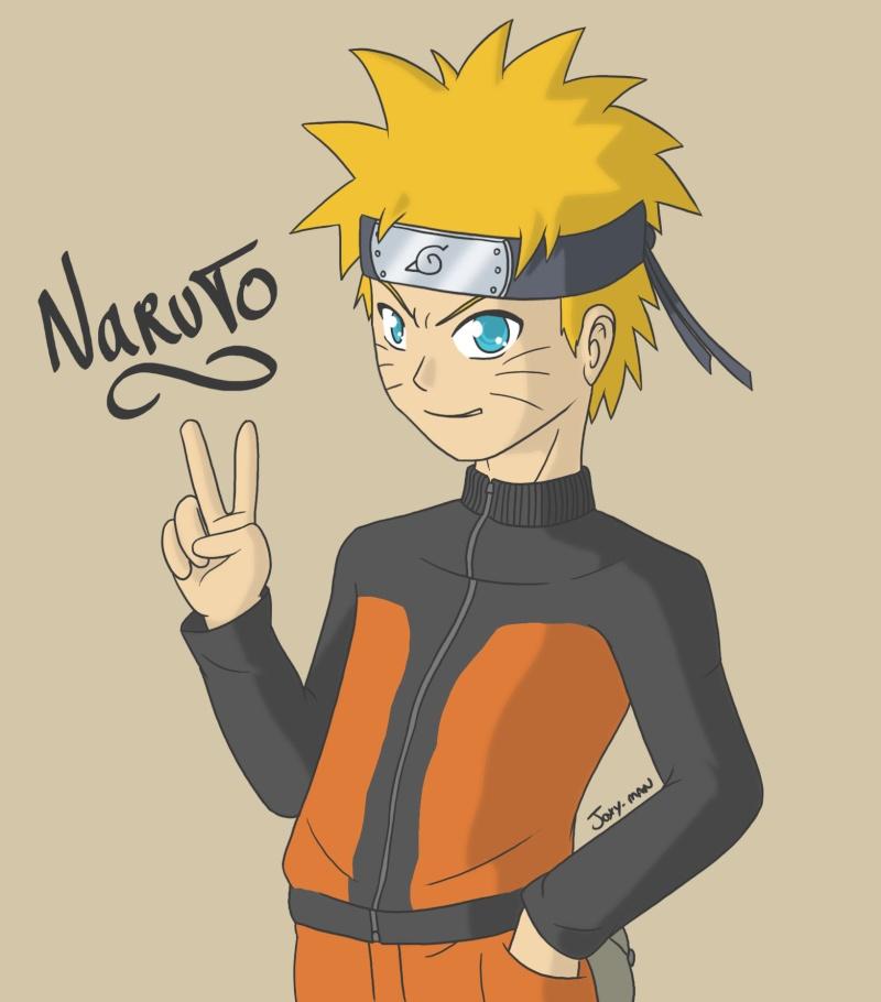[Dessin] Si tu es un artiste, montre nous ! - Page 11 Naruto10