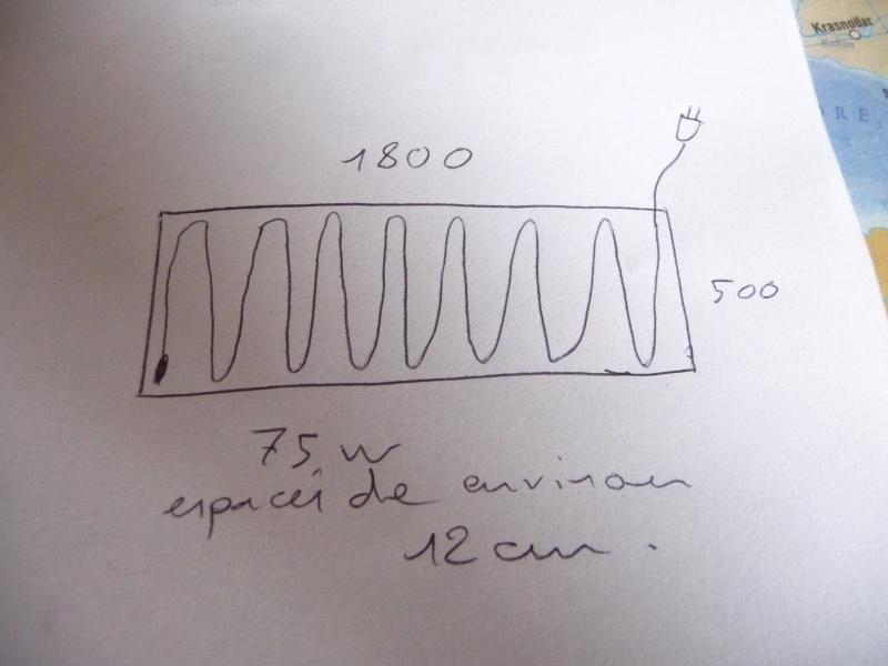 puissance du cable chauffant? 00316