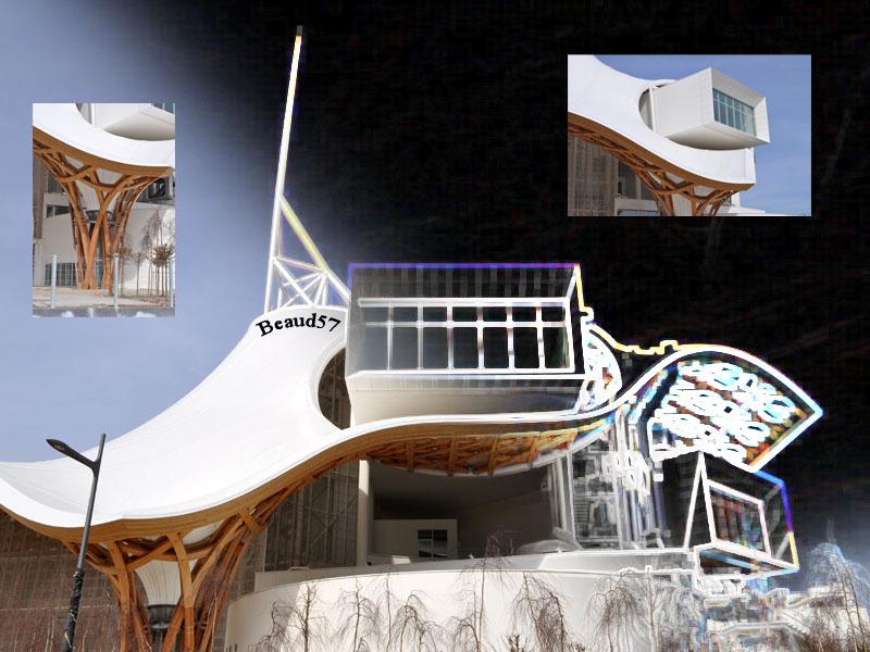 Concours du mois de mai 2010. Thème : Architecture de ma région Pompid10